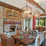 Highfield Ranch & Farm House - Ranch dinning